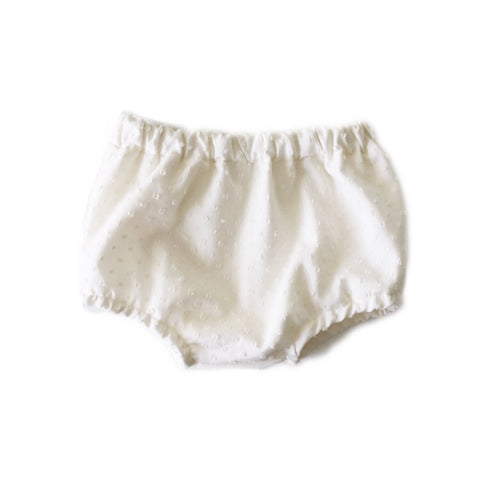 Bloomers, Ivory Swiss Dot