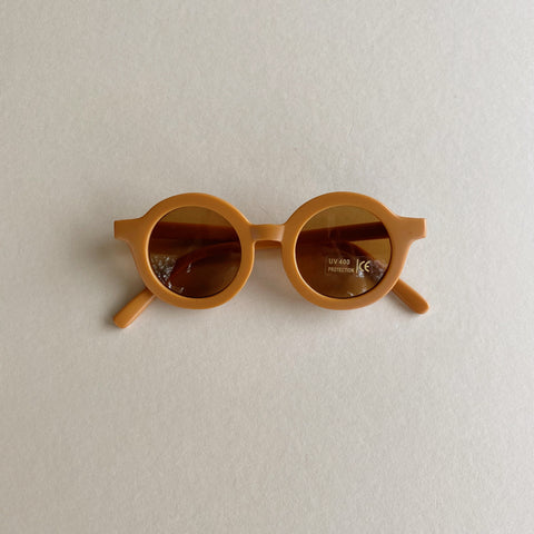 Sustainable Kids Sunglasses - Spice