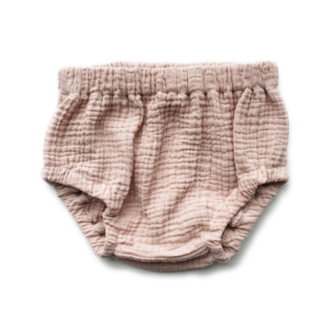 Bloomers, Cotton Gauze, Blush