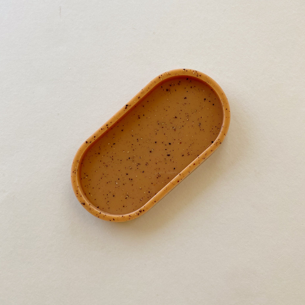Speckled Terra Cotta Tray