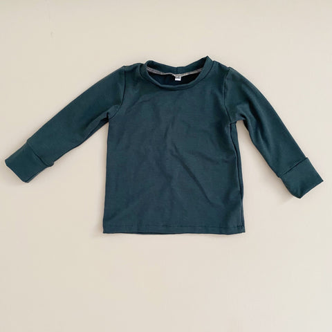 Basic Long Sleeve, Pine (PRE-ORDER)