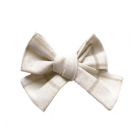 The Willow Bow, Cream and Tan Lines