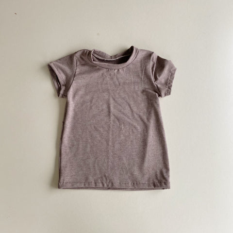 Basic Short Sleeve, Chocolate