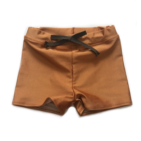 PREORDER Euro Swim Shorts, Copper