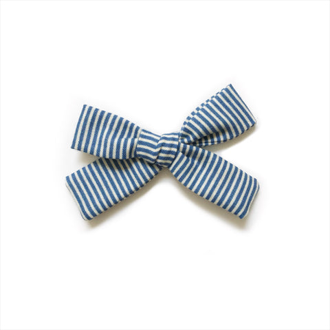The Everyday Bow, Navy Stripe