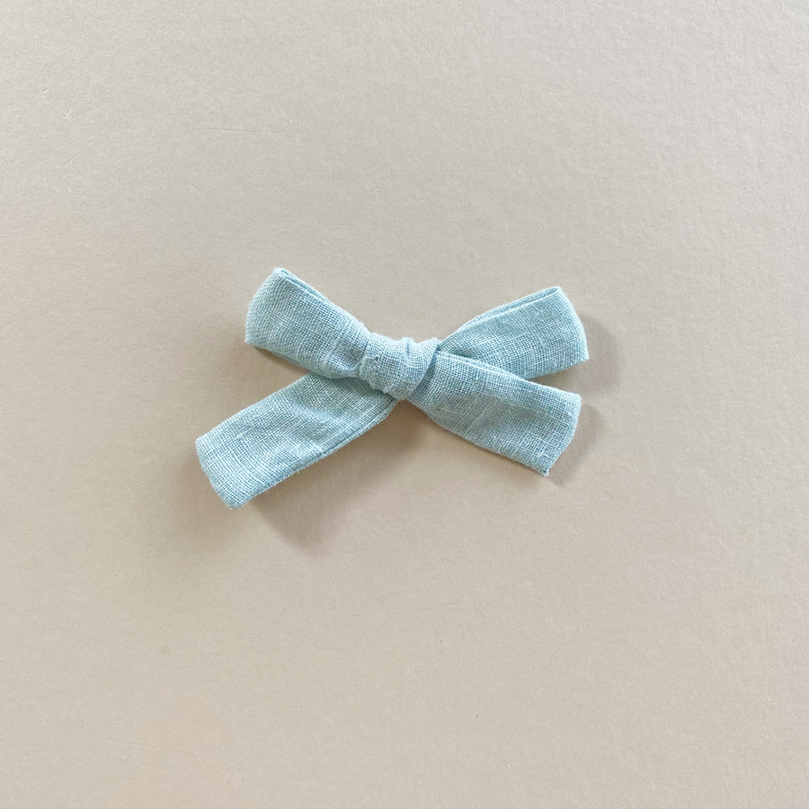 The Everyday Bow, Seafoam Linen