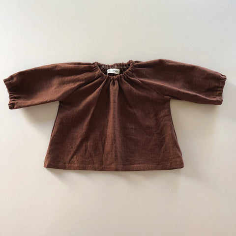 PREORDER Peasant Top, Nutmeg