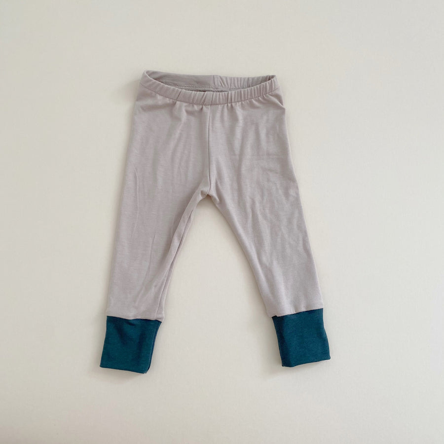 FINAL ONE! Basic Leggings, Doe w/ Pine, 12-18 mo