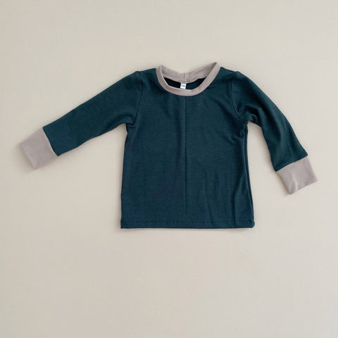 Basic Long Sleeve, Pine w/ Doe (PRE-ORDER)