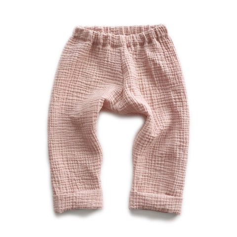 Gauze Trousers, Blush