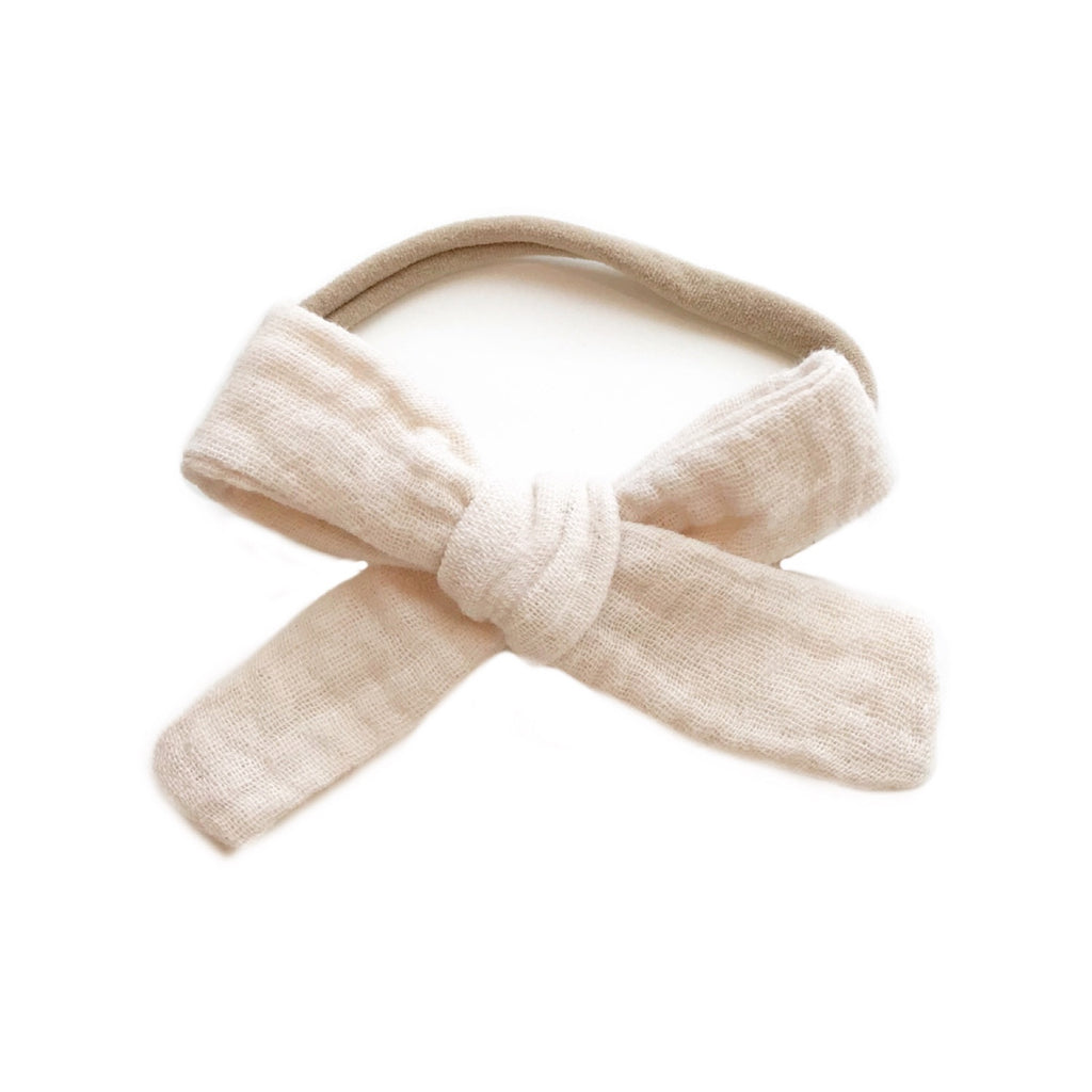 The Everyday Bow, Gauze Ivory