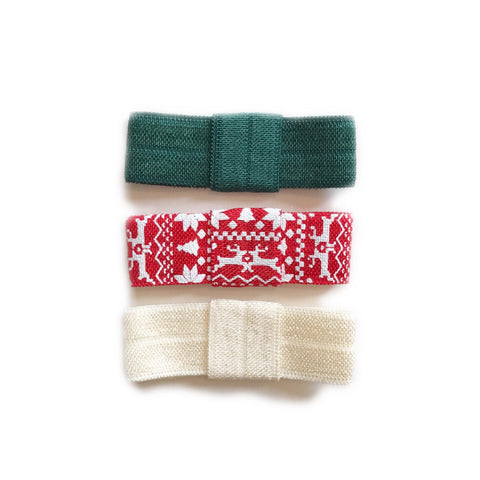 Mini Clips, The Fair Isle Collection