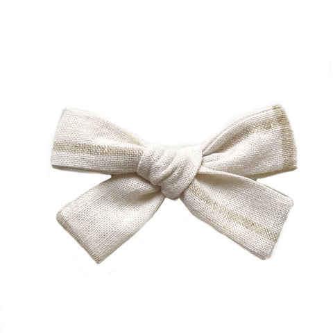 The Everyday Bow, Cream and Tan Lines
