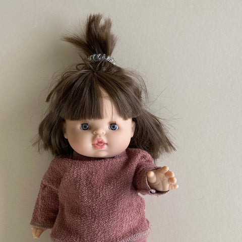 Doll: Organic French Terry Sweater, Fig