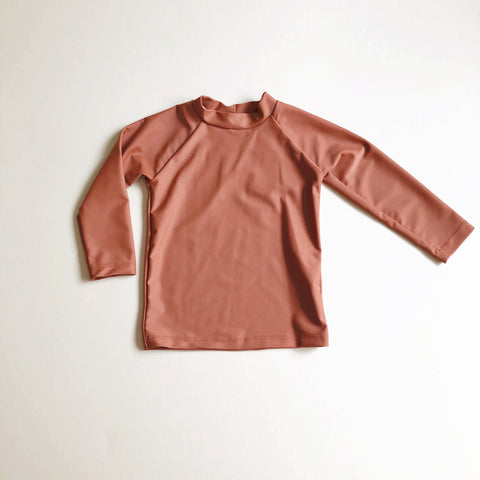 Rash Guard, Terra Cotta