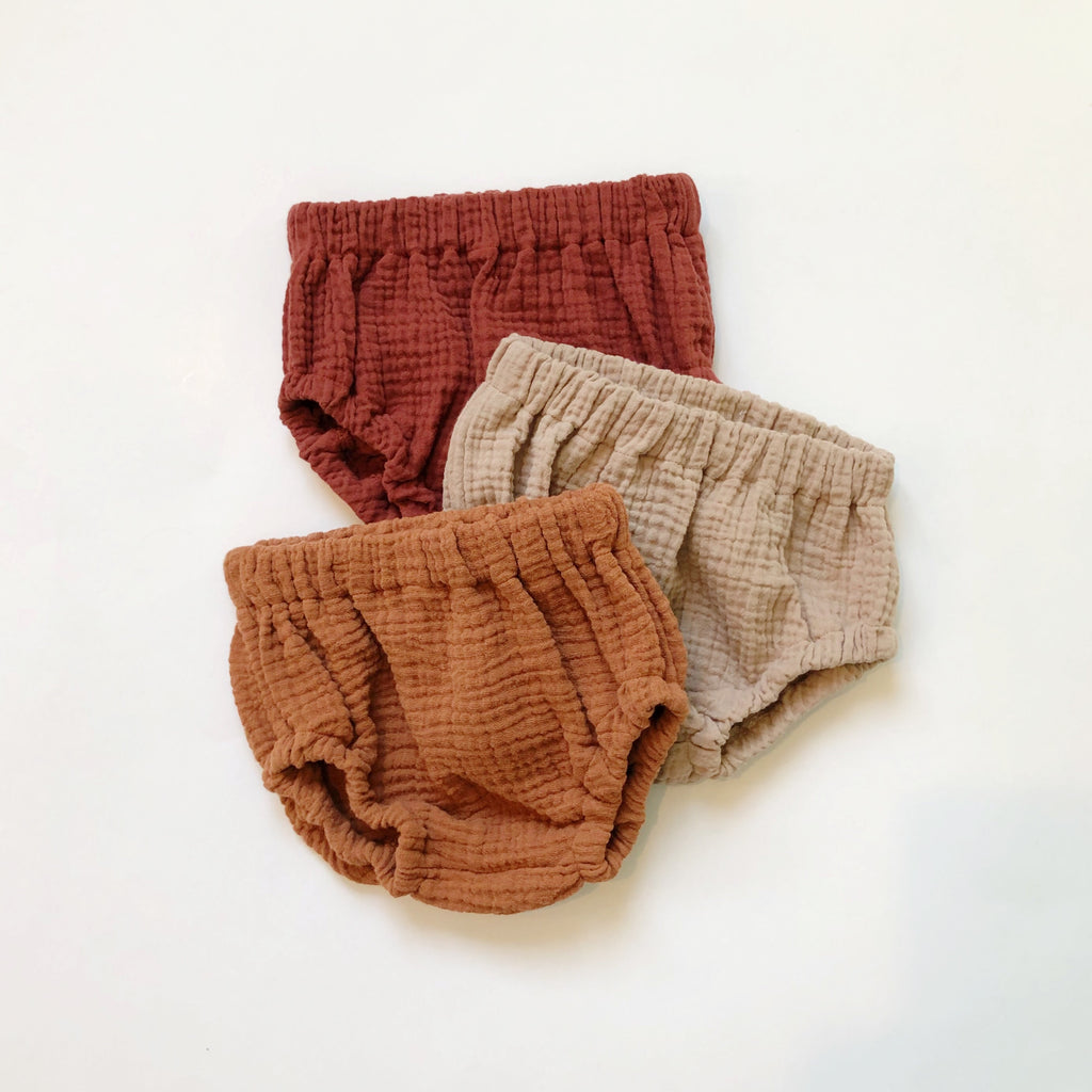 Bloomers, Cotton Gauze, Maple