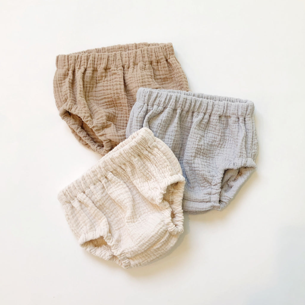 Bloomers, Cotton Gauze, Fog