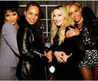 Alicia keys wearing my Ear Cuff, Madonna, Beyonce and Rita Ora