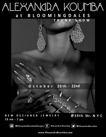 Alexandra Koumba at Bloomingdales Nyc
