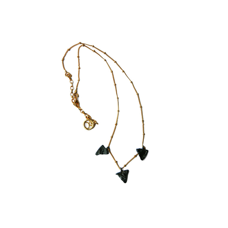 Tri Short Necklace - Alexandra Koumba Designs