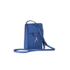 WB Mini cross bag - bluette/silver- Designed by alexandra koumba