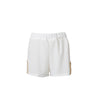 Anaxilea Shorts-white/gold-designed by Alexandra koumba