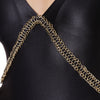 Xenia-one piece-swimsuit-black with gold chain-detail-designed-by-Alexandra Koumba