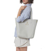 Wb med shop bag-White/silver-Designed by alexandra koumba