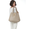 WB Shop Bag-beige/lime/gold-designed by alexandra koumba
