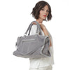Signature Voyager Bag-grey/silver-Designed by alexandra koumba