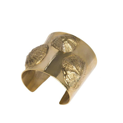 Petalides Cuff in Gold Design by Alexandra Koumba
