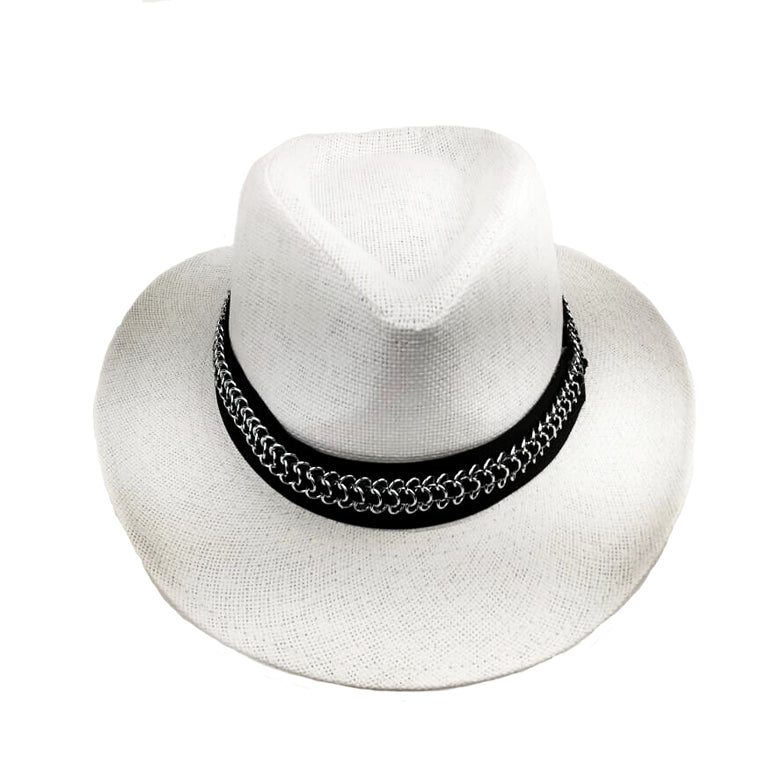 panama_hat_white_silver_chain_designed_by_alexandra_koumba