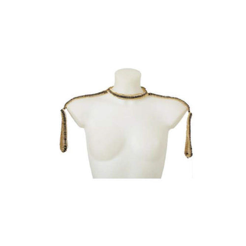 Chain Shoulder Harness designed by alexandra koumba