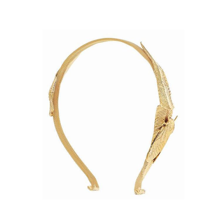 Criket Headband-gold-designed by alexandra koumba
