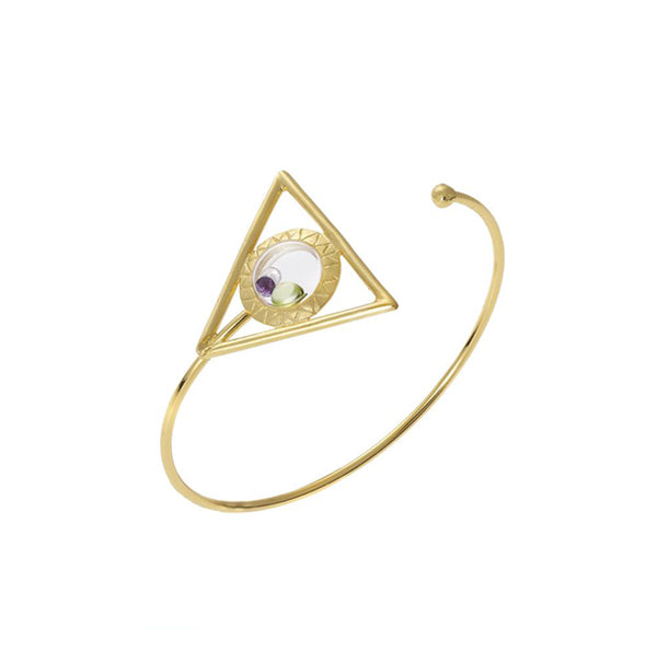 Egyptian floating bracelet 14k or 18k gold Design by Alexandra Koumba