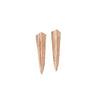 fern earrings-rose gold-designed by alexandra koumba