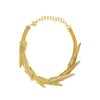fern necklace-gold-designed by alexandra koumba