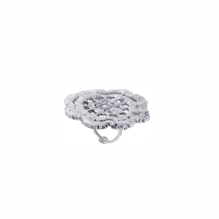 Flower Tia Ring - Alexandra Koumba Designs