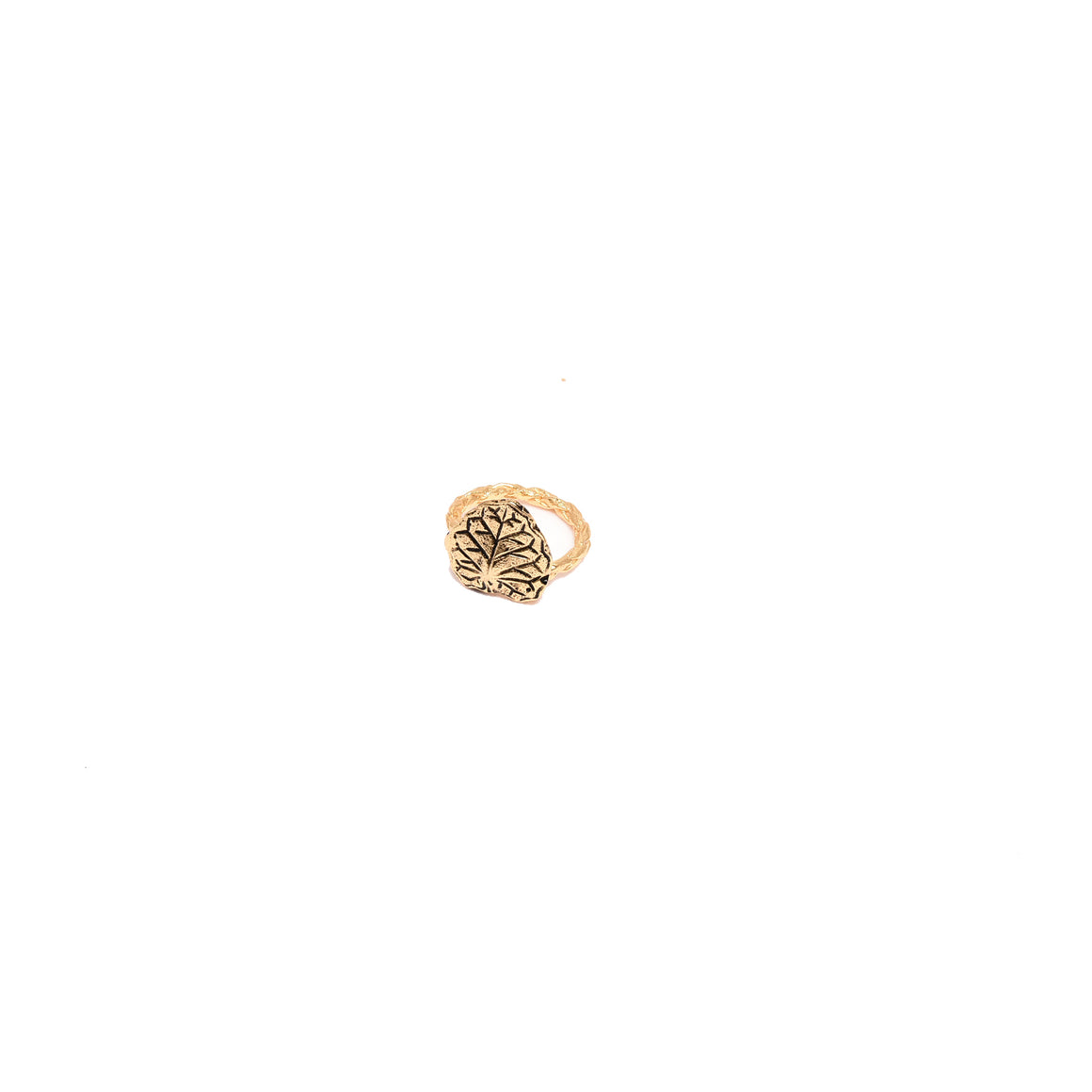 ivy pinky ring-gold-designed by alexandra koumba