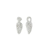 Knot earrings-silver-designed by alexandra koumba