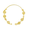 Knot Multi Necklace-gold-designed by alexandra koumba