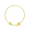 Knot Necklace-Gold-designed by alexandra koumba
