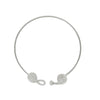 Knot Necklace-silver-designed by alexandra koumba