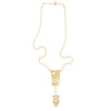 Art Deco necklace 1-gold-designed by Alexandra Koumba