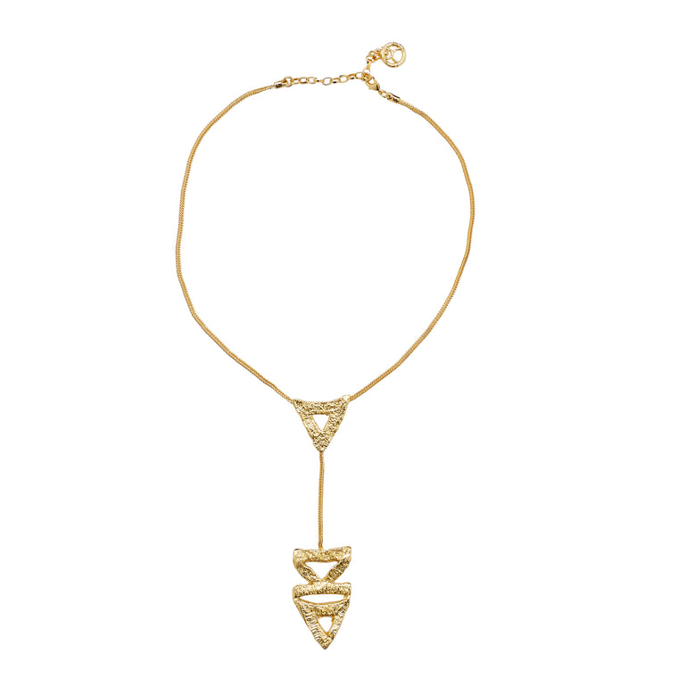 Art Deco necklace 3-gold-designed by alexandra koumba