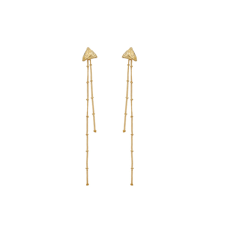 Tri Hang earrings-gold-designed by alexandra koumba