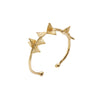 Tri Bangle 3d-gold-designed by alexandra koumba