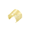 lace cuff-gold-designed by alexandra koumba