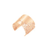 lace cuff-rose gold-designed by alexandra koumba