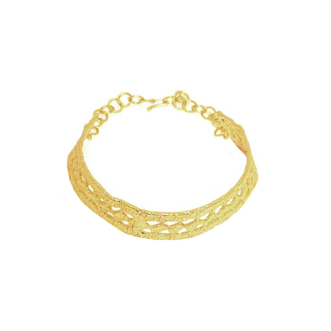 Lace thin Choker-gold-designed by alexandra koumba